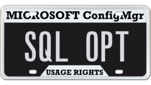 ConfigMgr SQL Usage Rights